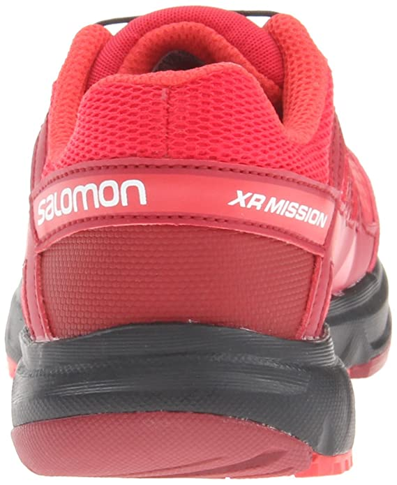 Salomon Kinder Schuhe XR Mission J Rot Outdoor Trail