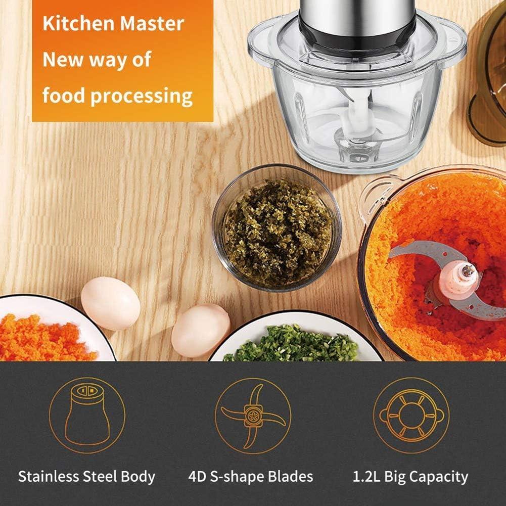 Compra FXXJ Picadora de Alimentos eléctrica, procesador de ...