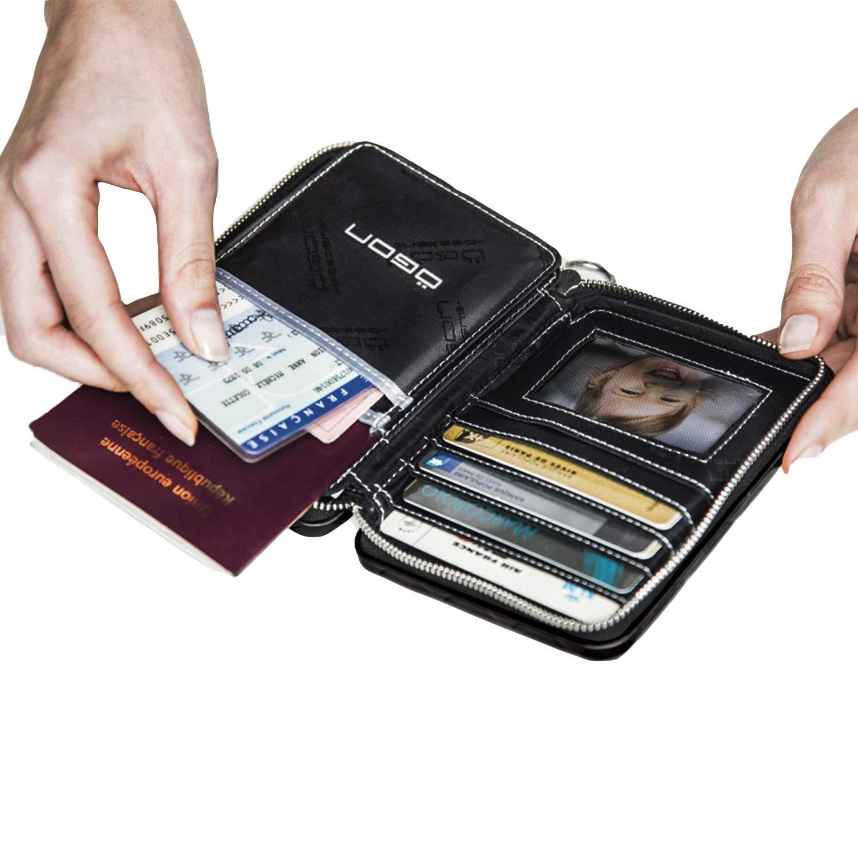 Ögon Aluminio Cartera y monederos Tarjetero Seguridad RFID ...