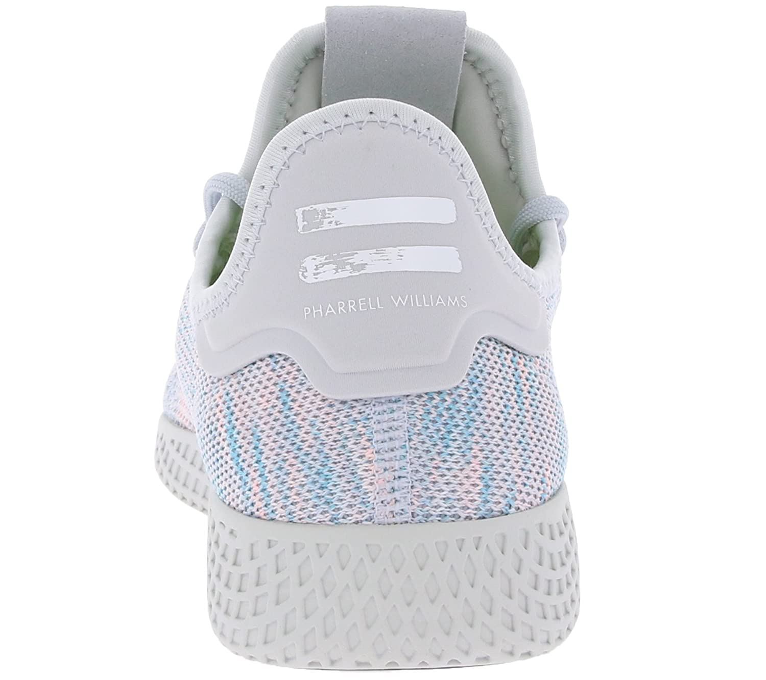 c1345aae4f08e adidas Originals Pw Tennis Hu Mens Trainers White - White - UK Sizes 4-10   Amazon.co.uk  Shoes   Bags
