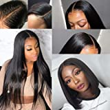 Arabella Lace Front Wigs Human Hair 10a 13x4 Lace Front Wigs 14inch Straight Wigs Human Hair With Baby Hair Pre Plucked…