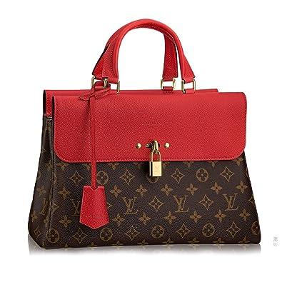 6aa023c65526 Image Unavailable. Image not available for. Color  Authentic Louis Vuitton  Monogram Canvas Venus Handbag Article M41738 Cherry ...