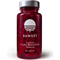 Sunset Flush Prevention for Asian Glow and Alcohol Intolerance