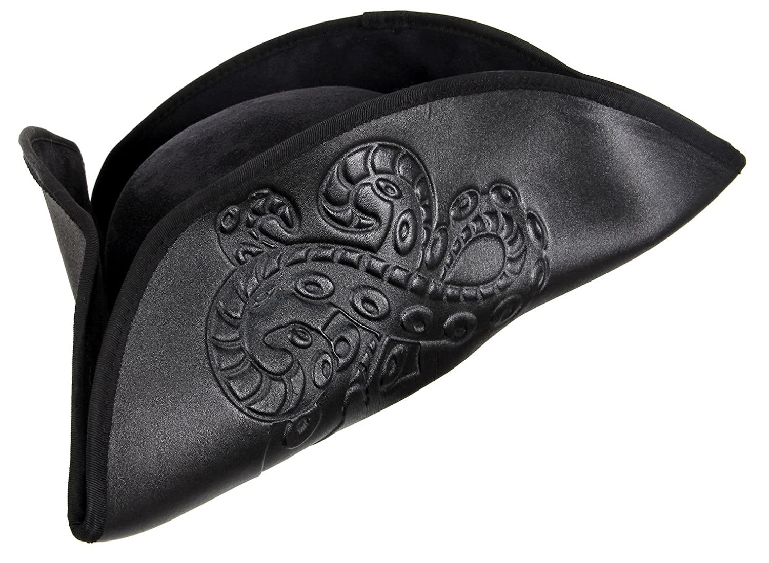 elope Octopus Pirate Hat Black for Adults