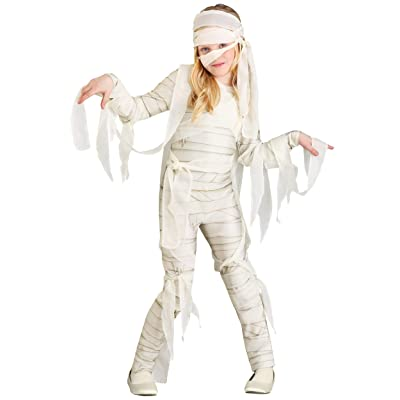Under Wraps Mummy Costume Girl's: Clothing