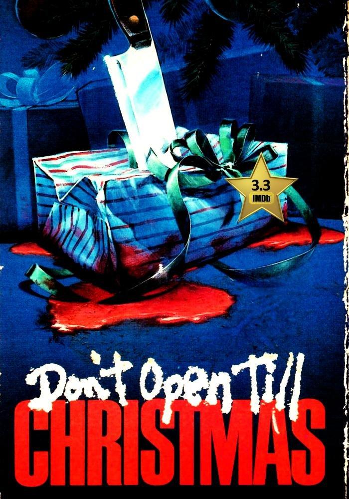 Dont Open Till Christmas.Amazon Com Don T Open Till Christmas Vhs Retro Style 1984