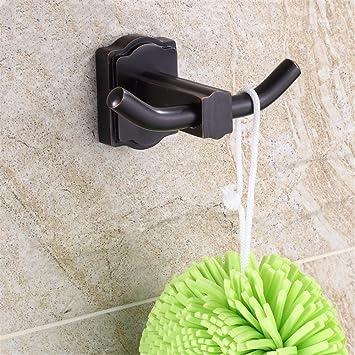 Schwarz Alle Kupfer Einzigen Haken Badezimmer Badezimmer Hang Haken Kleider Haken  Bad Garderobe Haken Küche Haken