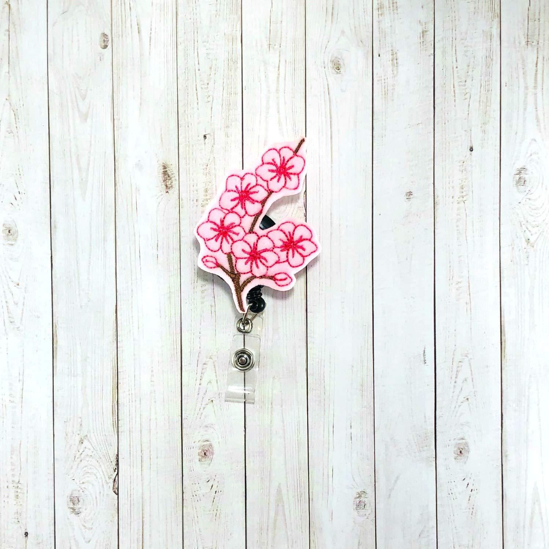 Cherry Blossom Badge Reel