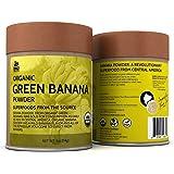 OMG! Superfood Organic Green Banana Powder - 100% Pure, USDA Certified Organic Green Banana Powder - 4oz