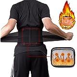 KIWI RATA Waist Trimmer Belt Support Brace, Adjustable Back Lumbar Straps Weight Loss Ab Belt, Breathable Stomach Wrap Waist Trainer Cincher Girdle