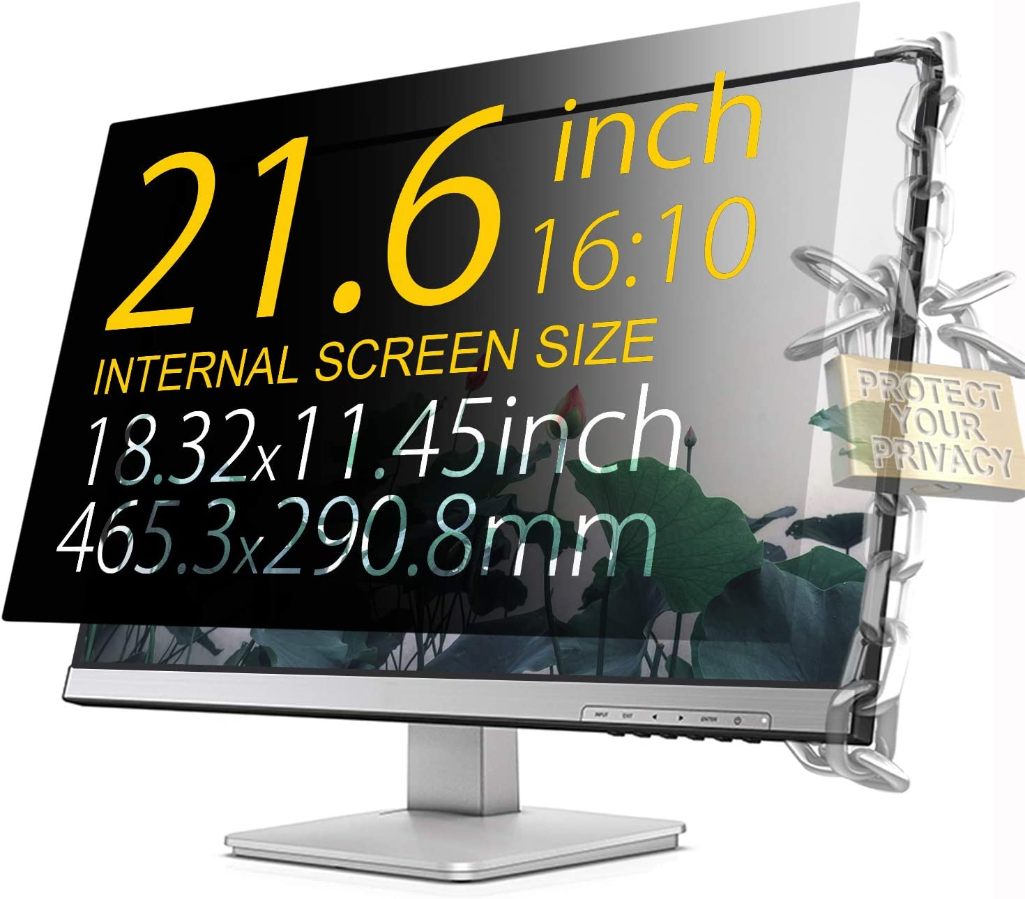 35 Inch 21:9 Aspect Ratio Computer Privacy Screen Protector Privacy Filter for Widescreen//Curved Screen Computer Monitor Anti-Glare Xianan Protect Computer Privacy
