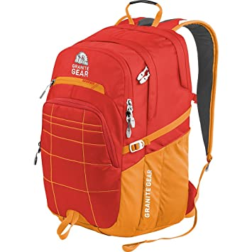 67d21011f942 Granite Gear Buffalo Backpack, Ember Orange/Recon, One Size