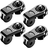 Neewer Universal Conversion Adapter (1/4 Inch 20) Mini Tripod Screw Mount Fixing GoPro Accessories to Sony Olympus and Other Action Cameras(4 Pack)