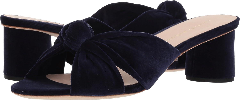 Loeffler Randall Women's Celeste-Cvl Slide Sandal B07BYTT4QZ 8 B(M) US|Eclipse