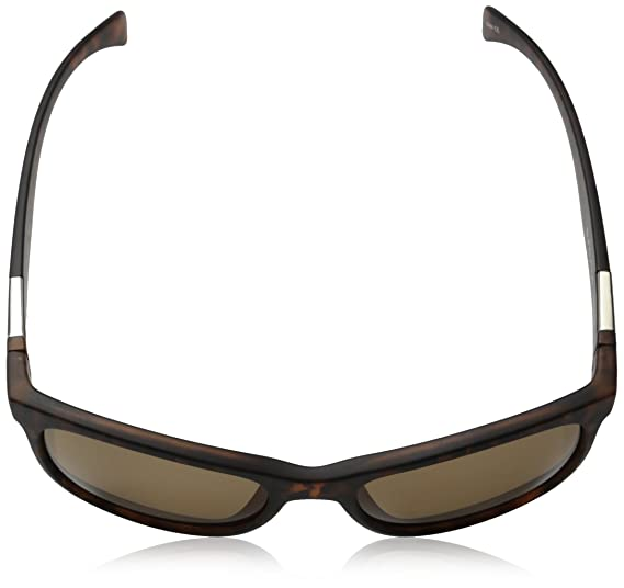 5a10e63448 Matte Tortoise Frame Brown   Suncloud Doubletake Polarized Sunglass with  Polycarbonate Lens  Amazon.in  Sports