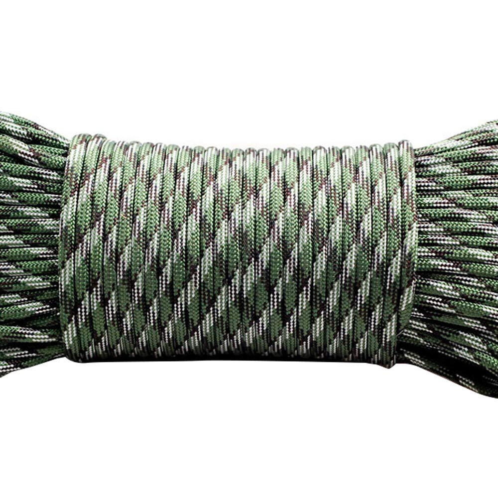 8009ac171ab7 Amazon.com: GEMYON Outdoor Survival Rope, Polyester Braided Rope ...