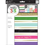 ME & MY BIG IDEAS Fold-05 Create 365 Classic Planner Folders-Stay Happy