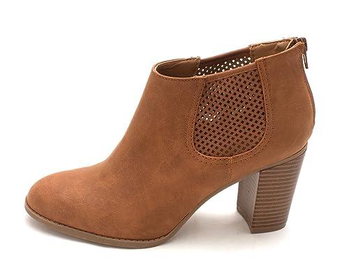 sélectionner pour véritable chaussures classiques vente la moins chère Style & Co. Femmes Lanaa Bottes Couleur Marron Cedar Taille ...