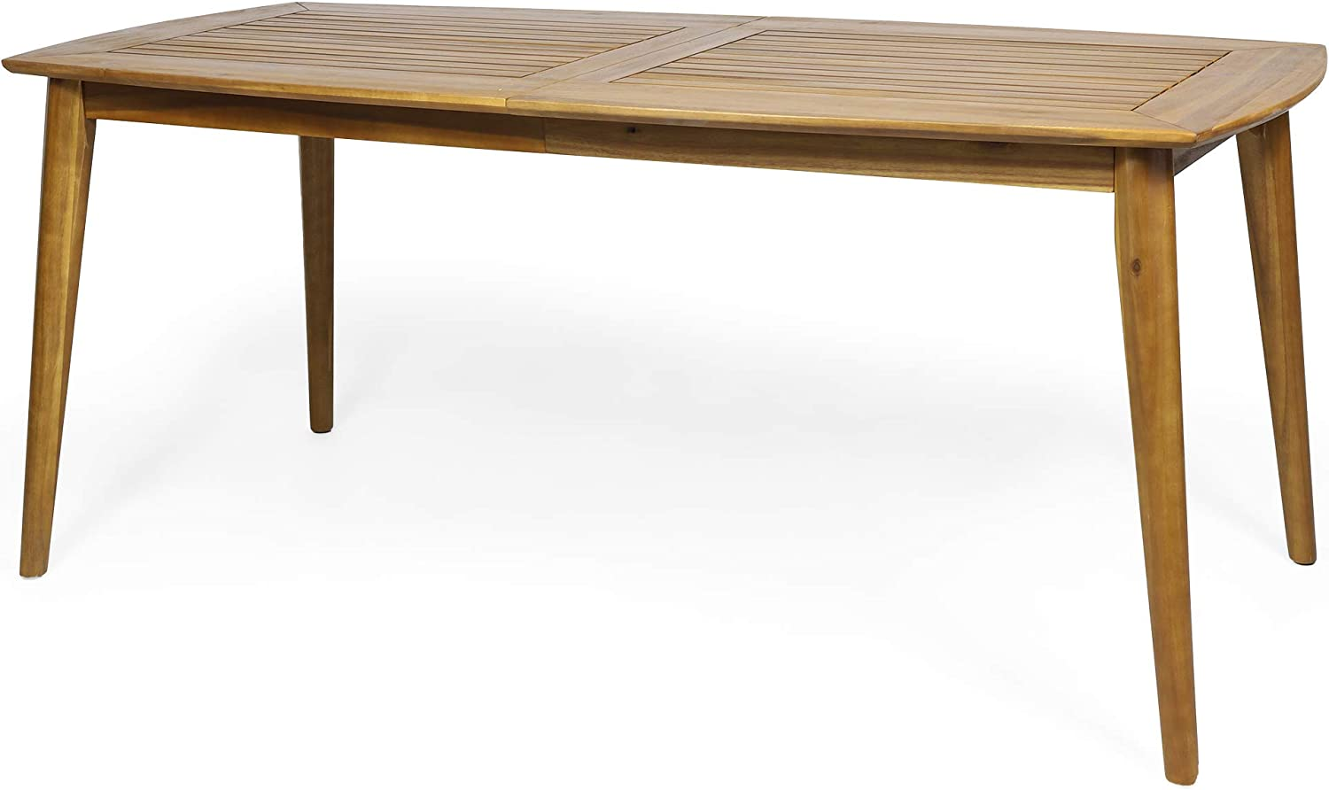 Christopher Knight Home 313208 Gwendolyn Outdoor Rustic Acacia Wood Dining Table, Teak