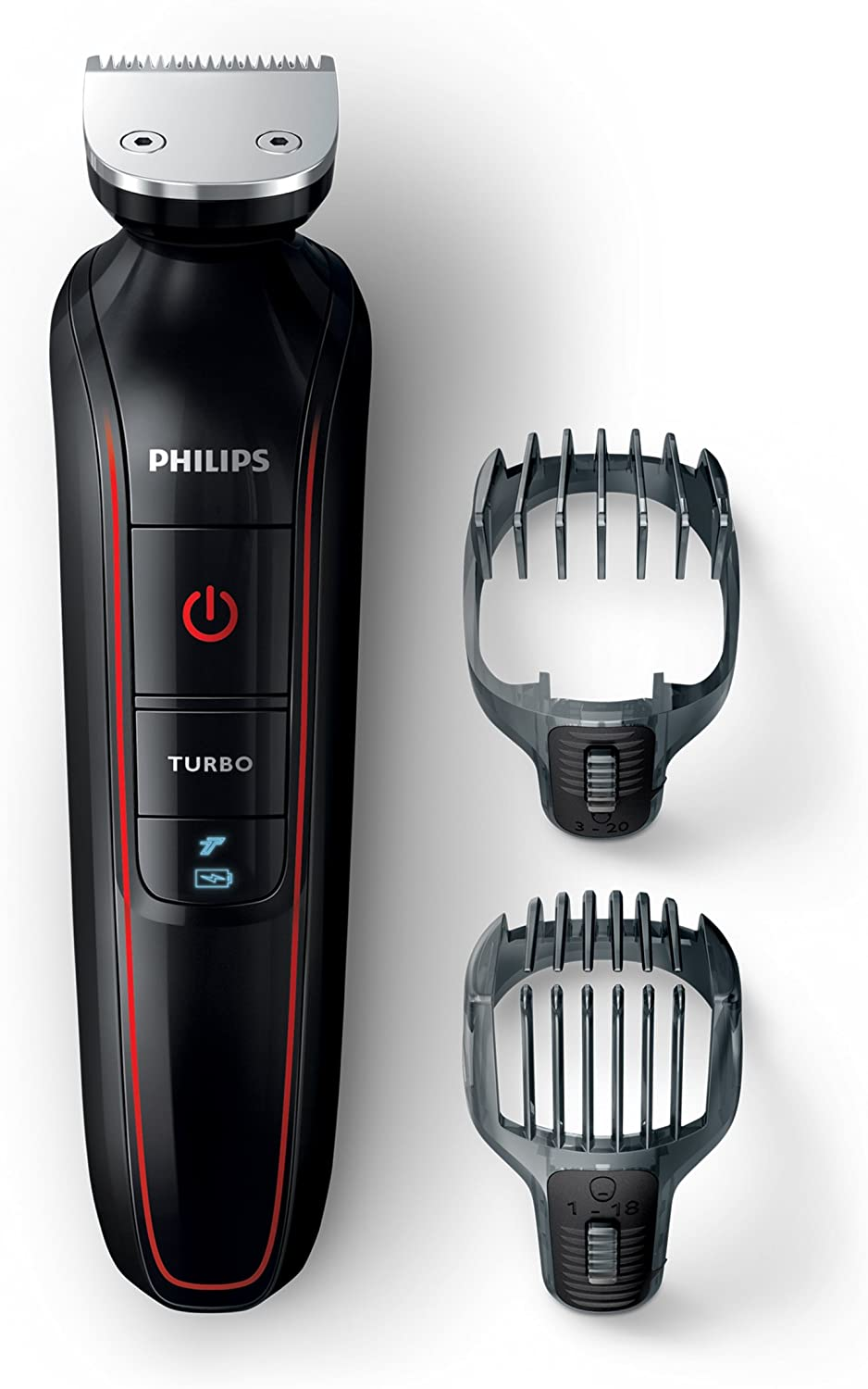 Philips MULTIGROOM Series 1000 QG415/13 Recargable Negro, Rojo ...
