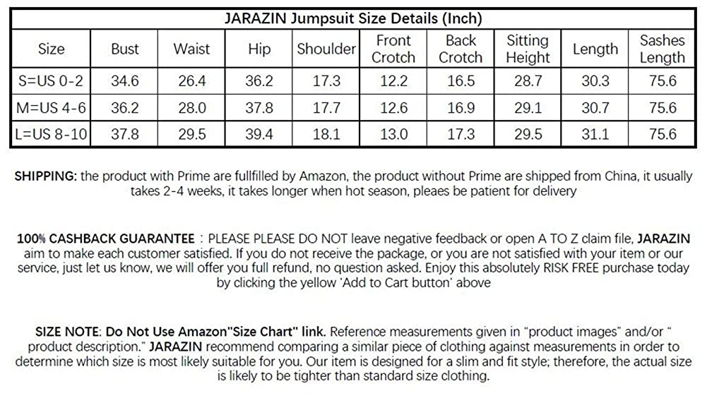 JARAZIN Womens Floral Jumpsuit Overall Romper Tie Waist with Ruffle Flare Sleeve