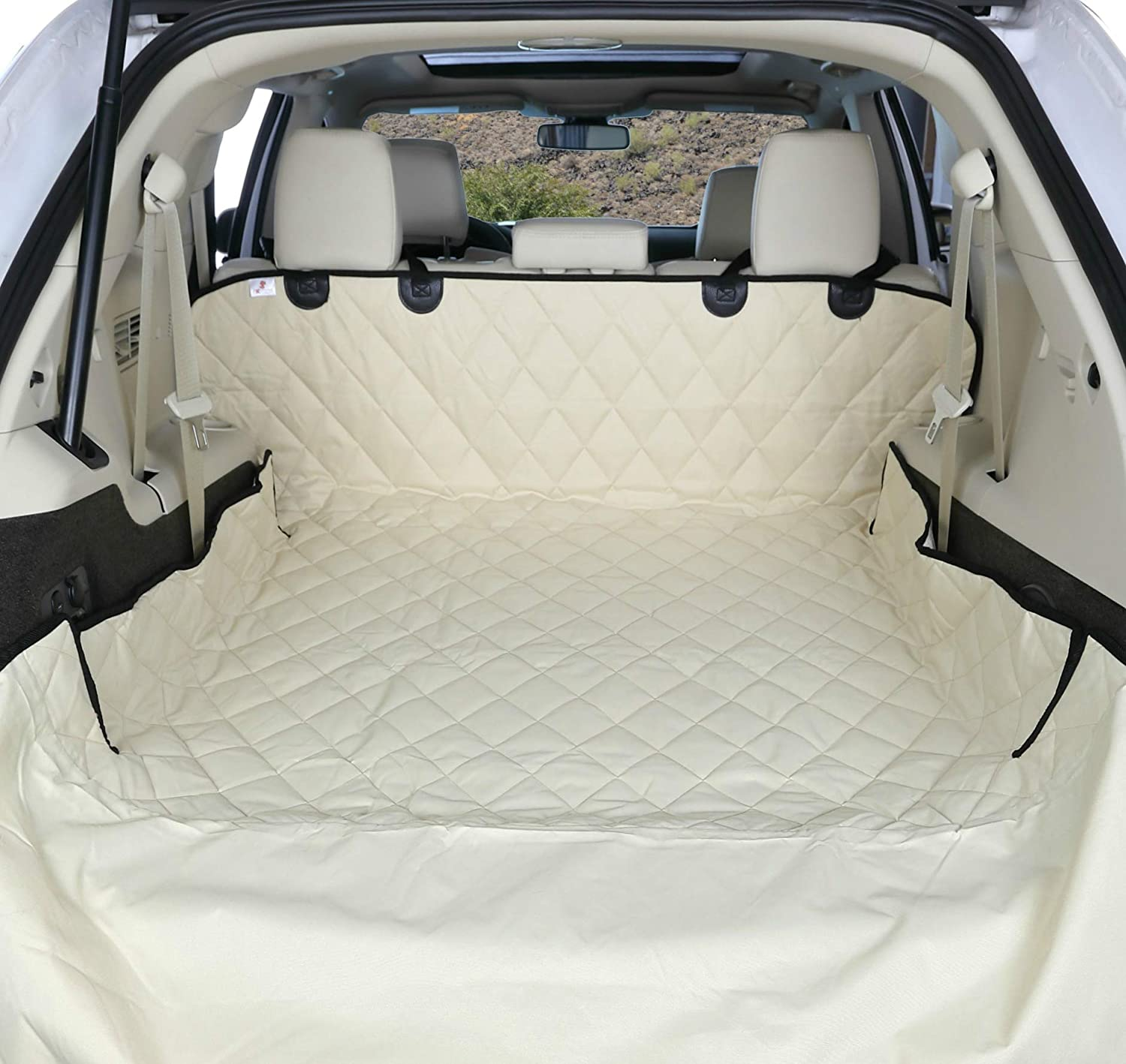 4Knines SUV Cargo Liner for Dogs - USA Based Company 71ybJUbHo-L