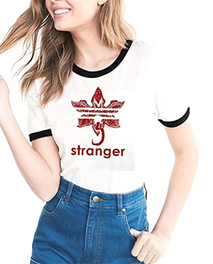 24fa54d06 Freemale Womens Letter Printed T Shirts Teen Girls' Tees Juniors Funny  Summer Tops at Amazon Women's Clothing store: