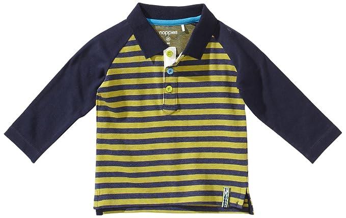 Noppies - Polo con Cuello de Polo de Manga Larga para bebé, Talla ...