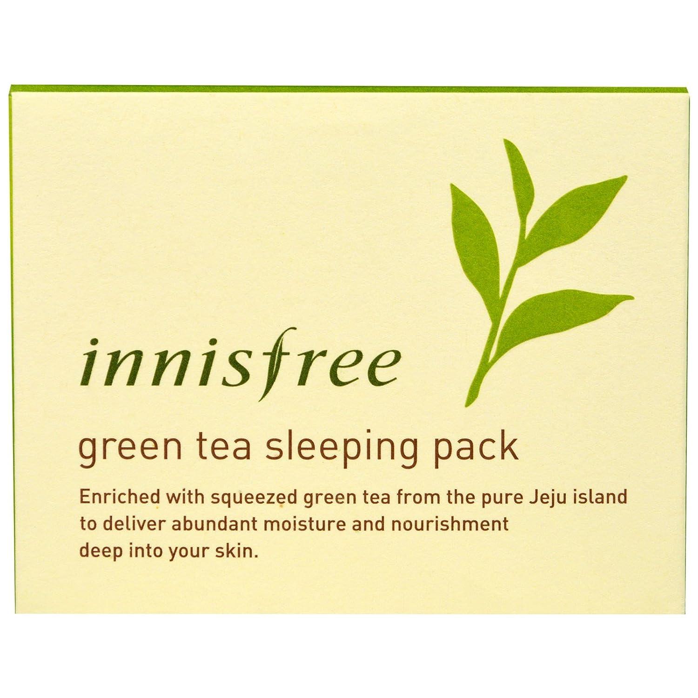Buy Innisfree Green Tea Sleeping Pack 80ml Best Korean Cosmetics Orchid Online At Low Prices In India