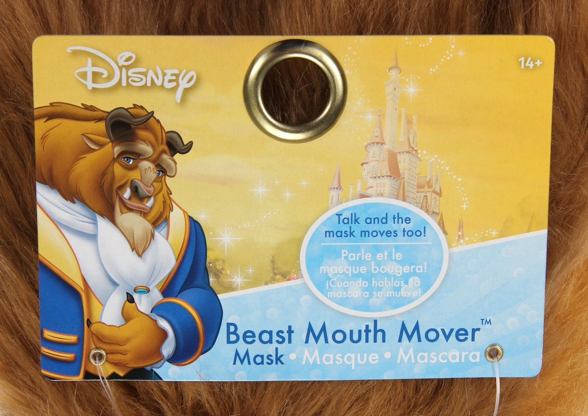elope Disney Beauty and The Beast Costume Mouth Mover Mask by elope (Image #5)