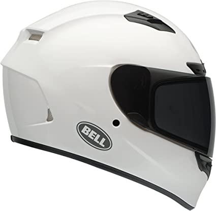 Bell Full Face Helmet >> Amazon Com Bell Qualifier Dlx White Full Face Helmet 2x Large