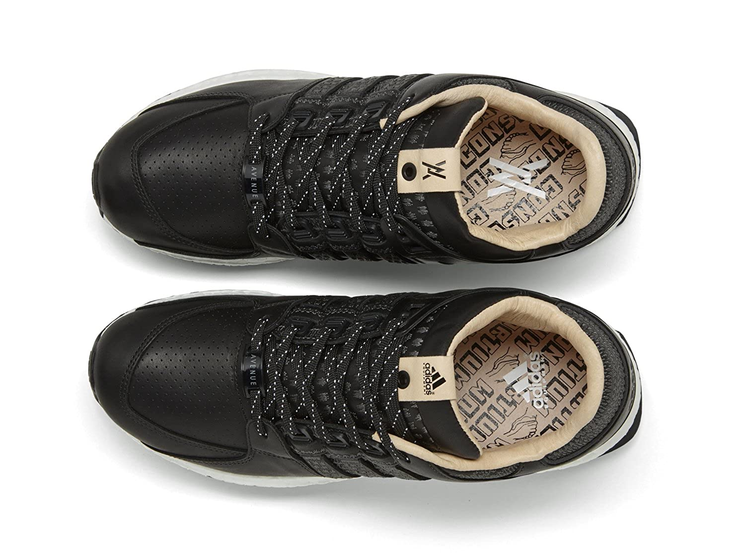 outlet store bd11d be939 Amazon.com  adidas Consortium x Avenue Men EQT 9316 Support (BlackVegetable  tanWhite)  Fashion Sneakers
