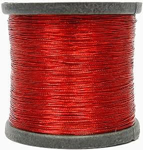 Knitwit Hilo de Coser de Color Rojo metálico acolchar la máquina ...