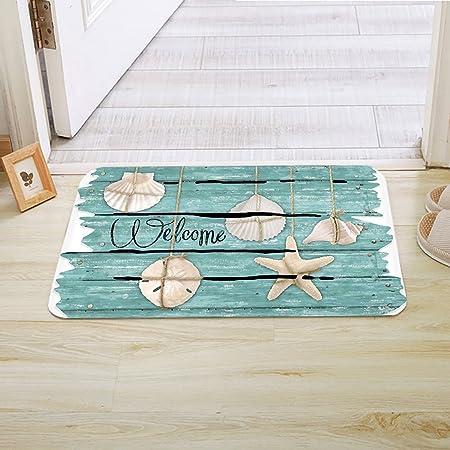 Vintage Style Green Floor Mats Home Or Office Entrance Door Mat Floor Doormats