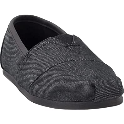 565ce873df Amazon.com | TOMS Mens Alpargata Casual Slip-Ons Black | Loafers ...