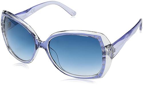 Amazon.com: Southpole Mujer 235sp-blt rectangular anteojos ...