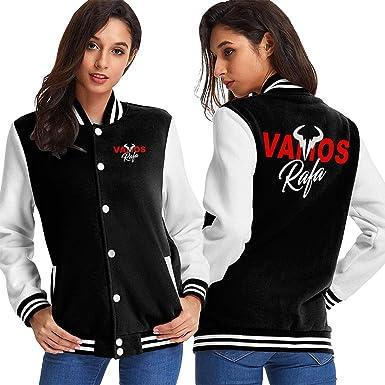 Amazon Com Womens Vamos Rafa Rafael Nadal Tennis Star Jacket Clothing
