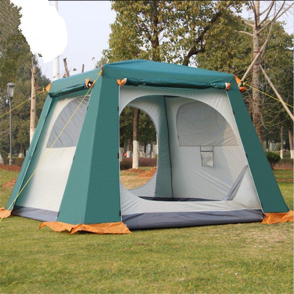 Maybesky Festzelt Im Freien kampierendes automatisches Zelt für 4-6 Leute 100% Wasserdichtes Familien-Campingzelt