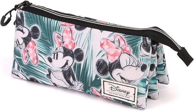 Karactermania Disney Classic Minni Aruba-astuccio Portatutto Triplo HS Estuches 24 Centimeters Multicolor (Multicolour): Amazon.es: Equipaje