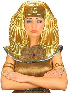 Faraón de la joyería de faraón máscara dorada de faraón de la máscara máscara Faraones de Egipto egipcia accesorios de vestuario: Amazon.es: Juguetes y juegos