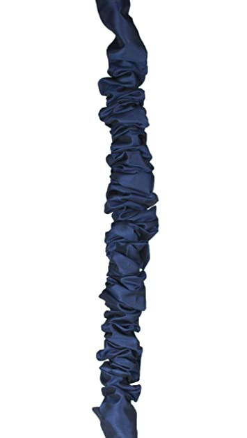 Urbanest 5-foot Chandelier Chain Cord Cover, Blue Faux Silk ...