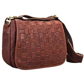 8aaa1ed5c5b6f STILORD  Mia  Kleine Leder Damen Handtasche Umhängetasche Vintage  Schultertasche zum Ausgehen für Party Disco