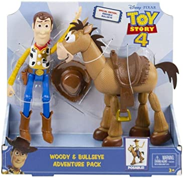Mattel España, S.A. Figuras Toy Story Pack Aventuras Woody y Perdigon: Amazon.es: Juguetes y juegos