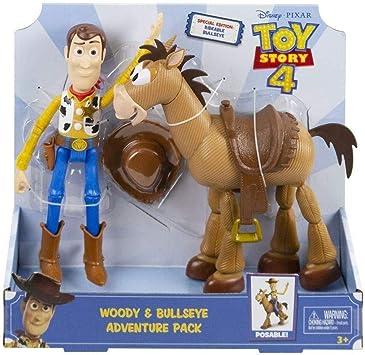 Mattel España, S.A. Figuras Toy Story Pack Aventuras Woody y ...