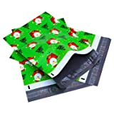Ohuhu 10x13'' Santa Claus Designer Poly Mailers