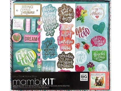 Amazon Me My Big Ideas Mambi Box Kit Soft Watercolor