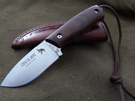 JV CDA Cuchillo CHACAL Mini Cocobolo