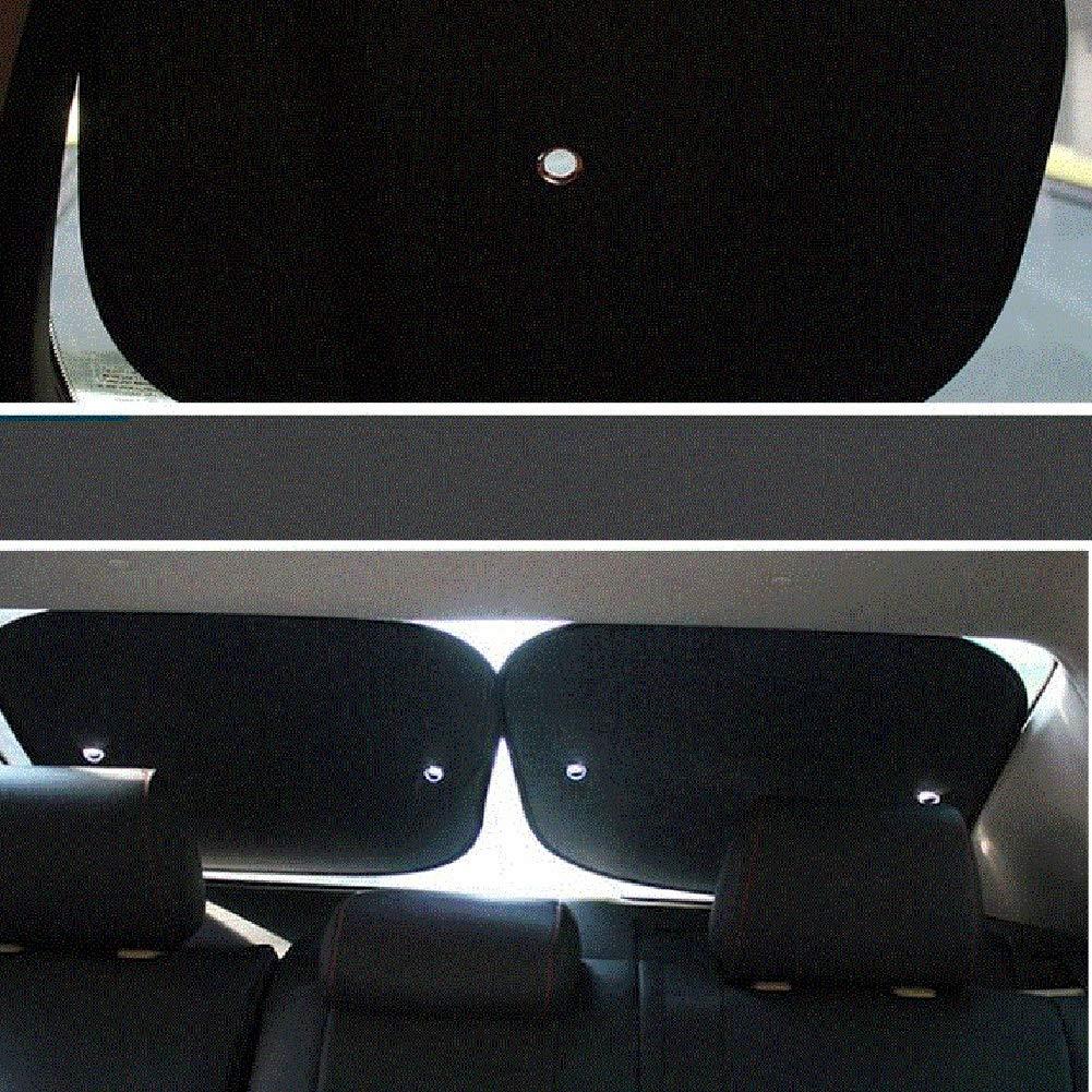 3 Tama/ños HENGYUS Parasol Coche Cubierta del Parabrisas Delantero Sombrilla De Protecci/ón Solar Quitasol Protector De Pantalla Papel De Aluminio Ventosa De Fijaci/ón Ligero