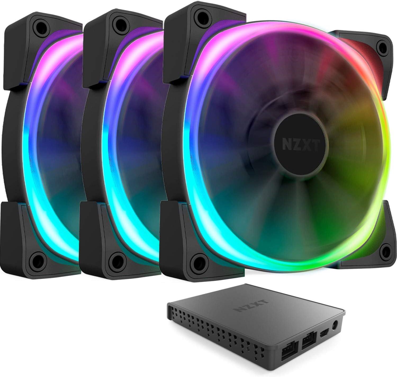 Nzxt HF-2812C-T1 - Ventilador de PC (Carcasa del Ordenador, Ventilador, 12 cm, 500 RPM, 1500 RPM, 22 dB)