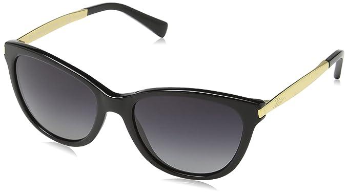 RALPH BY RALPH LAUREN 0Ra5201 Gafas de sol, Black/Gold, 54 para Mujer